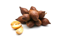 Salacca owoc na białym tle Obrazy Stock