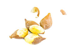 Salacca or zalacca tropical fruit on white background Stock Photo
