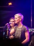 Salacgriva, Latvia, Międzynarodowy festiwal muzyki LABADABA, Lipiec Zdjęcie Stock