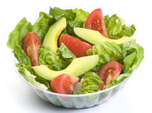 Salad. Delicious fresh salad low calorie vejetales Royalty Free Stock Image