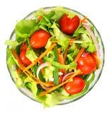 Salad. The salad on white background Stock Image