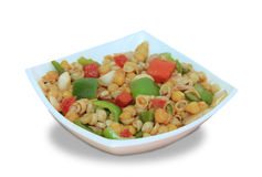 Salad. Bean Salad with assorted vegetables Stock Image