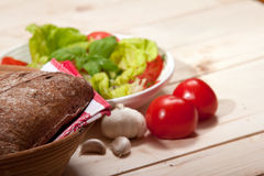 Salad. Healthy Eating concept.Fresh Salad Background stock photo