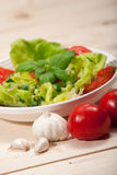 Salad. Healthy Eating concept.Fresh Salad Background royalty free stock images