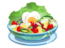 Salad stock illustration