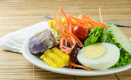 Salad. S for weight loss and health Royalty Free Stock Photography