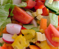 Salad. Tossed salad stock photography