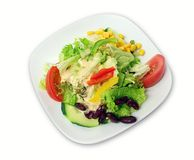 Salad. Foto of a Salad in a restaurant stock image