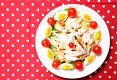 Salad above Stock Photos