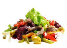 Salad with Anchovy Royalty Free Stock Photo