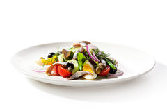 Salad with Anchovy Stock Images