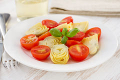 Salad with artichoke Royalty Free Stock Photography