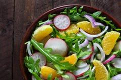Salad with arugula Royalty Free Stock Photography