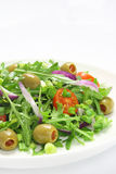 Salad with arugula Stock Photo
