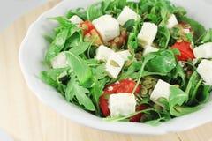 Salad with arugula Stock Photo