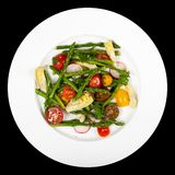 Salad with Asparagus stock images