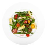 Salad with Asparagus stock photography