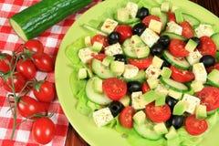 Salad with avocado Royalty Free Stock Photography