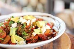 Salad avocado Stock Photo
