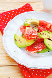 Salad with avocado and grapefruit Royalty Free Stock Images