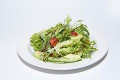 Salad with avocado Stock Photo