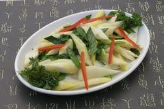 Salad with avocado Royalty Free Stock Image