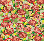 Salad background. Vector illustration of salad background Royalty Free Stock Images