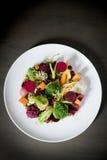 Salad Background. Breakfast Vegetable Cooking Stock Images
