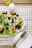 Salad with baked vegetables Royalty Free Stock Photos