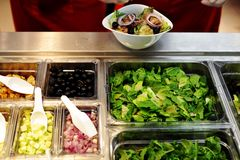 Salad Bar 01 Royalty Free Stock Images
