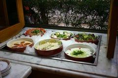 Salad Bar. Oriental Salad Bar Stock Photos