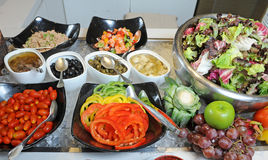 Salad bar Royalty Free Stock Photos