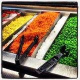 Salad Bar Components Royalty Free Stock Photo