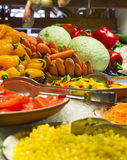 Salad bar Stock Images