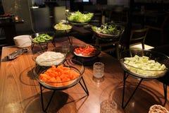 Salad bar Stock Photo