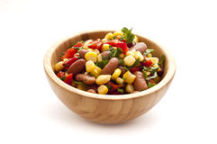 Salad with beans and corn Royalty Free Stock Photography