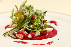 Salad with beet Stock Image
