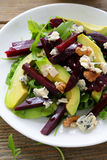 Salad with  beetroot and avocado Royalty Free Stock Photography