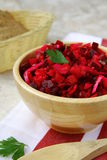 Salad of beets Stock Images
