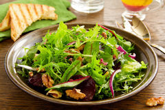 Salad with beets, blue cheese, Stock Photo