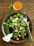 Salad with beets, blue cheese, Stock Photography