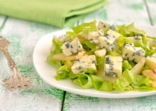 Salad with Blue Cheese Stock Image