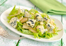 Salad with Blue Cheese Stock Photos