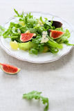 Salad with blue cheese, arugula and grapes Royalty Free Stock Photography