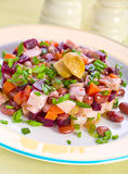 Salad with bolied beet Stock Images