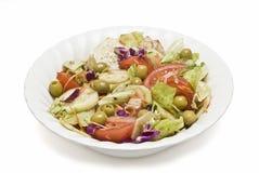 A salad bowl. Stock Photos