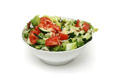 Salad bowl Stock Images