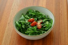 Salad in a bowl Royalty Free Stock Photos