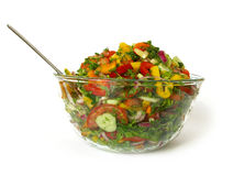 Salad in a bowl Stock Photography