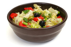 Salad in bowl Stock Photography